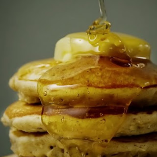 Cinnamon Oat Pancakes.