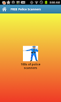 Screenshot of FREE Police Scanners