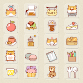 CUKI Theme Hams Cafe Icon