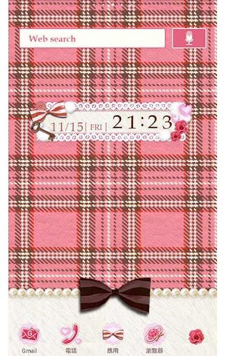 粉色方格紋 for[+]HOME