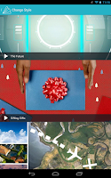 Screenshot of Animoto Video Maker