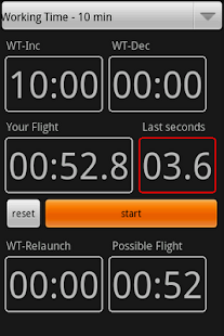 F3J timer - screenshot thumbnail