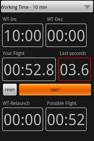 F3J timer- screenshot