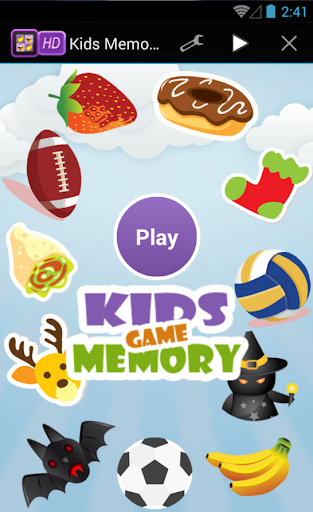 Kids Memory Match Game