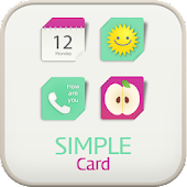 Simplecard go locker theme