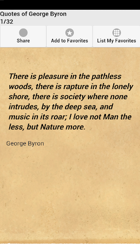 Quotes of George Byron