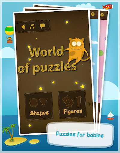 World of puzzles -Kids puzzles