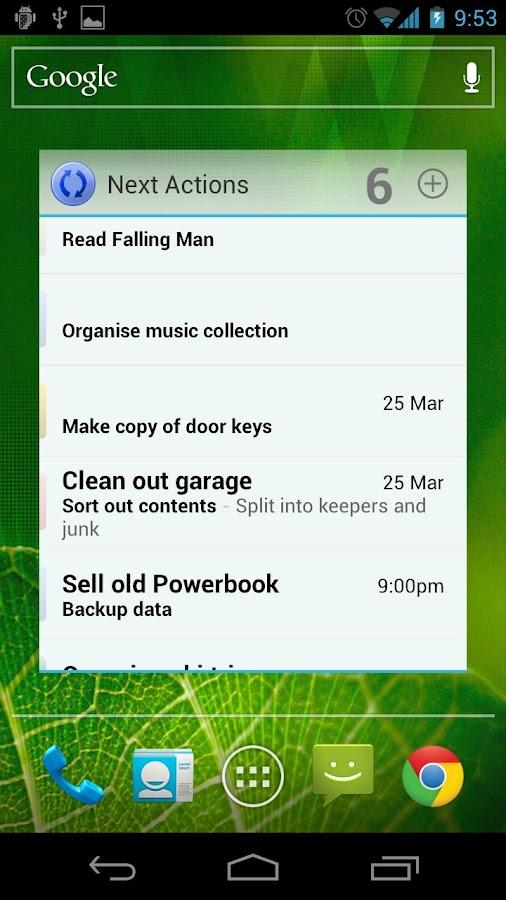 Shuffle- screenshot