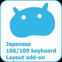日本語106/109キーボードレイアウト icon