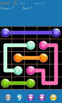Draw Line Bubbles - screenshot