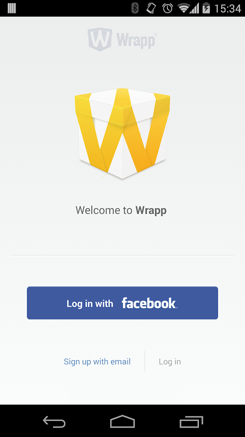 Wrapp - screenshot