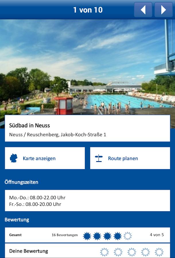Strandbadguide Das Örtliche- screenshot
