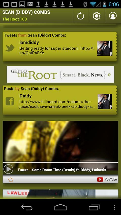 Sean Diddy Combs: The Root 100 - screenshot