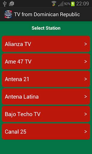 電視從多明尼加共和國