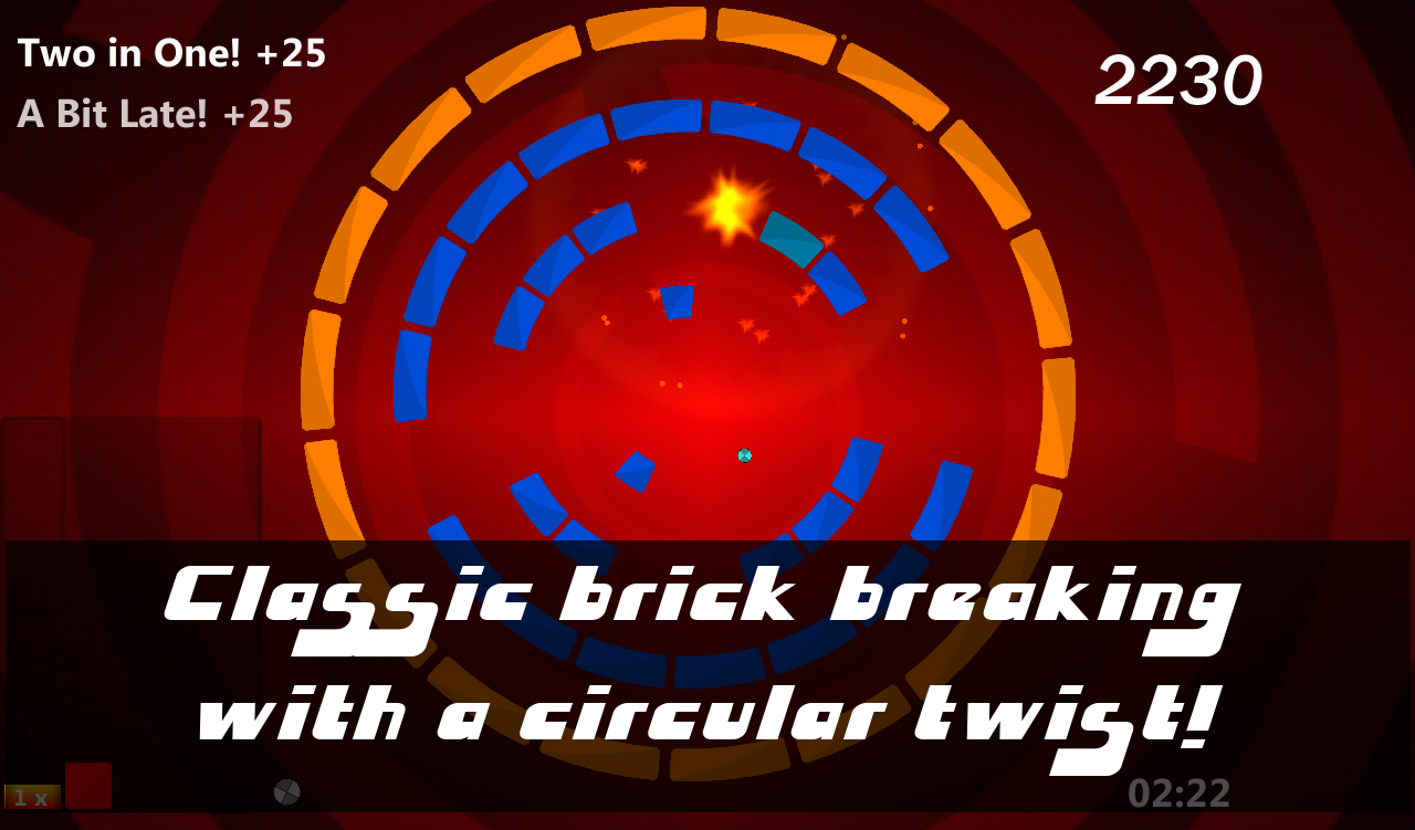 Ringgz - Brick Breaker- screenshot