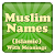 Muslim Baby Names and Meaning! file APK for Gaming PC/PS3/PS4 Smart TV