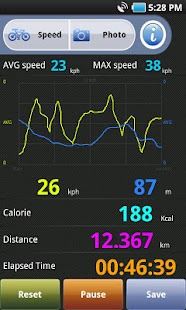 BikeMate GPS- screenshot thumbnail