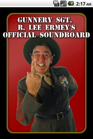 R. Lee Ermey's Official Sound - screenshot