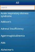 Screenshot of NurseTabs: Med/Surg