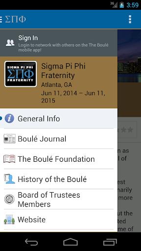 Sigma Pi Phi Fraternity