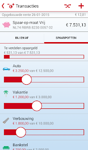 RegioBank - Mobiel Bankieren - náhled