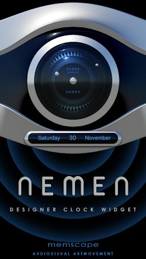 NEMEN Designer Clock Widget