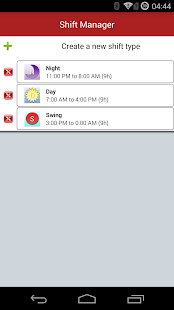 Shift Work Scheduling Calendar- screenshot thumbnail