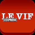 Le Vif/L'Express Smartphone logo