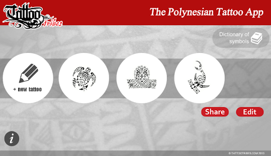 Polynesian Tattoo App- screenshot thumbnail
