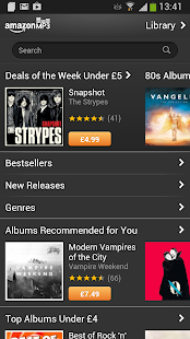 Amazon MP3 - screenshot thumbnail