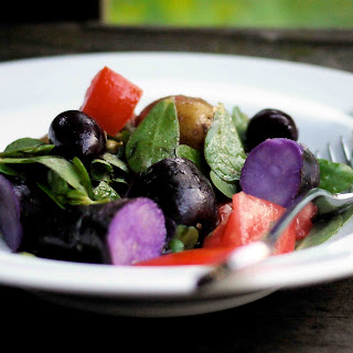 Potato and Purslane Salad