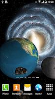 Screenshot of 3D Galaxy Wallpaper
