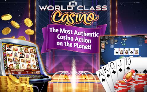 World Class Casino Slots Poker