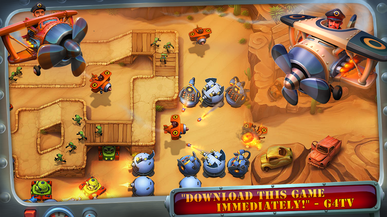 Fieldrunners 2 - screenshot