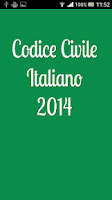 Screenshot of Codice Civile Italiano 2014