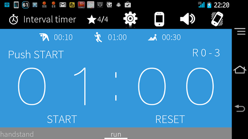 Interval Timer+ HIIT Training