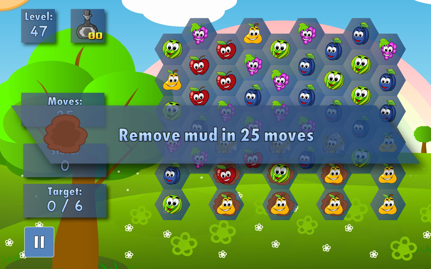 Fruit link deluxe - Fruit Farm Deluxe Screenshot