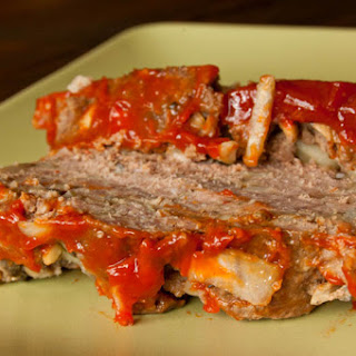 Meat Loaf With Mushrooms.