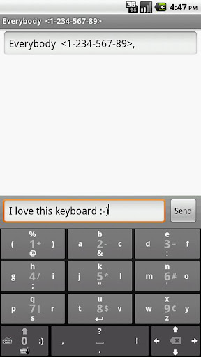 No Errors Keyboard