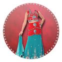 Indian Girl Kids Wear Montage icon