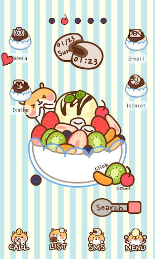 CUKI Theme Bingsu fairy Hams
