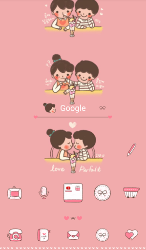 loveis love parpe dodol theme