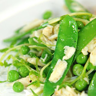 Pea and Crab Salad