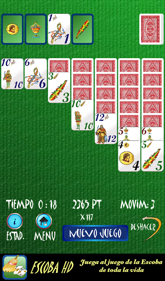 Solitario Español - screenshot