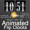 Live Wallpaper Flip Clock Tria icon
