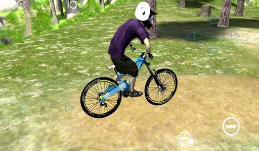 Biking Downhill 3D