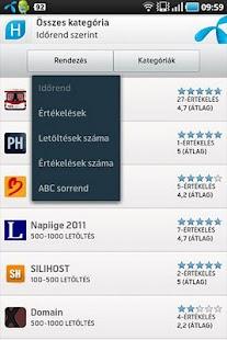 Magyar Alkalmazások- screenshot thumbnail