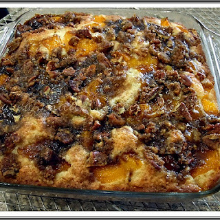 Fruits and Nuts Coffee Cake.