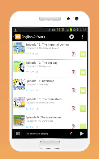 BBC 영어교육방송 English at work