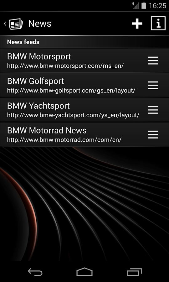 BMW Connected - screenshot